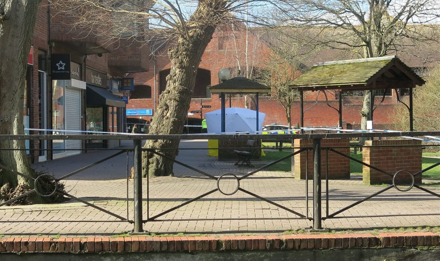forensic_tent_at_the_maltings_salisbury