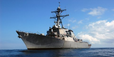 USS Porter on Deployment