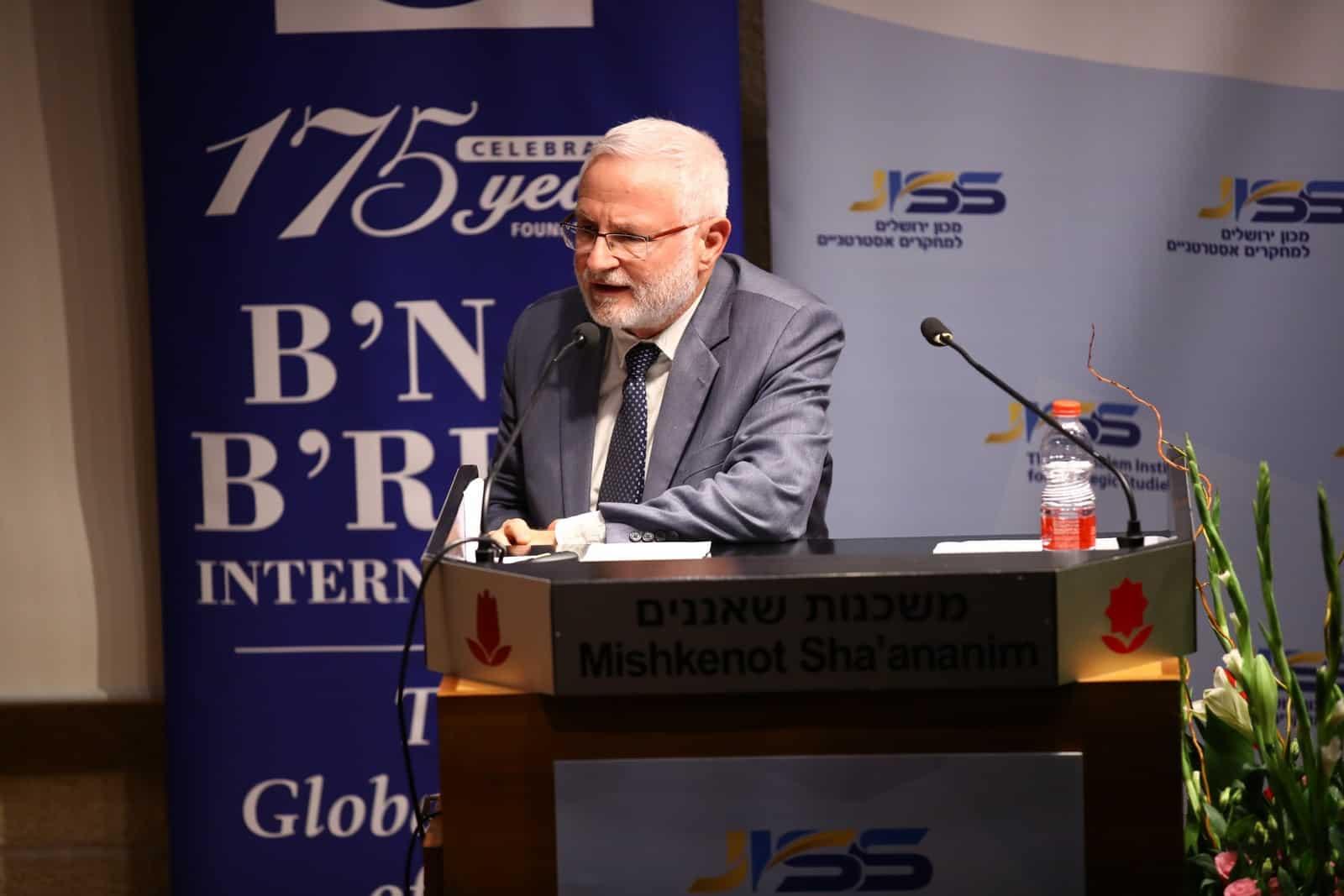 Dr. Eran Lerman, JISS Vice President