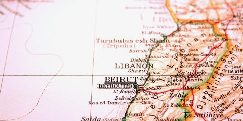 Beirut Lebanon the way we looked at it in 1949.