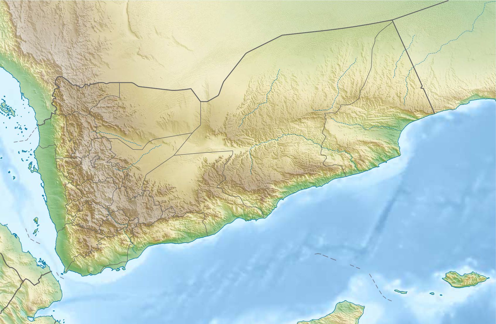 yemen_relief_location_map
