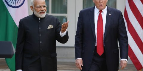 Washington Dc,usa,may 2019,indian Prime Minister Narendra Modi A