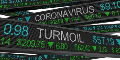 Coronavirus Stock Market Crash Turmoil COVID-19 Outbreak Pandemi