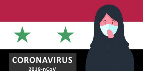 Coronavirus In Syria. Novel Coronavirus 2019-ncov, Arabic Woman