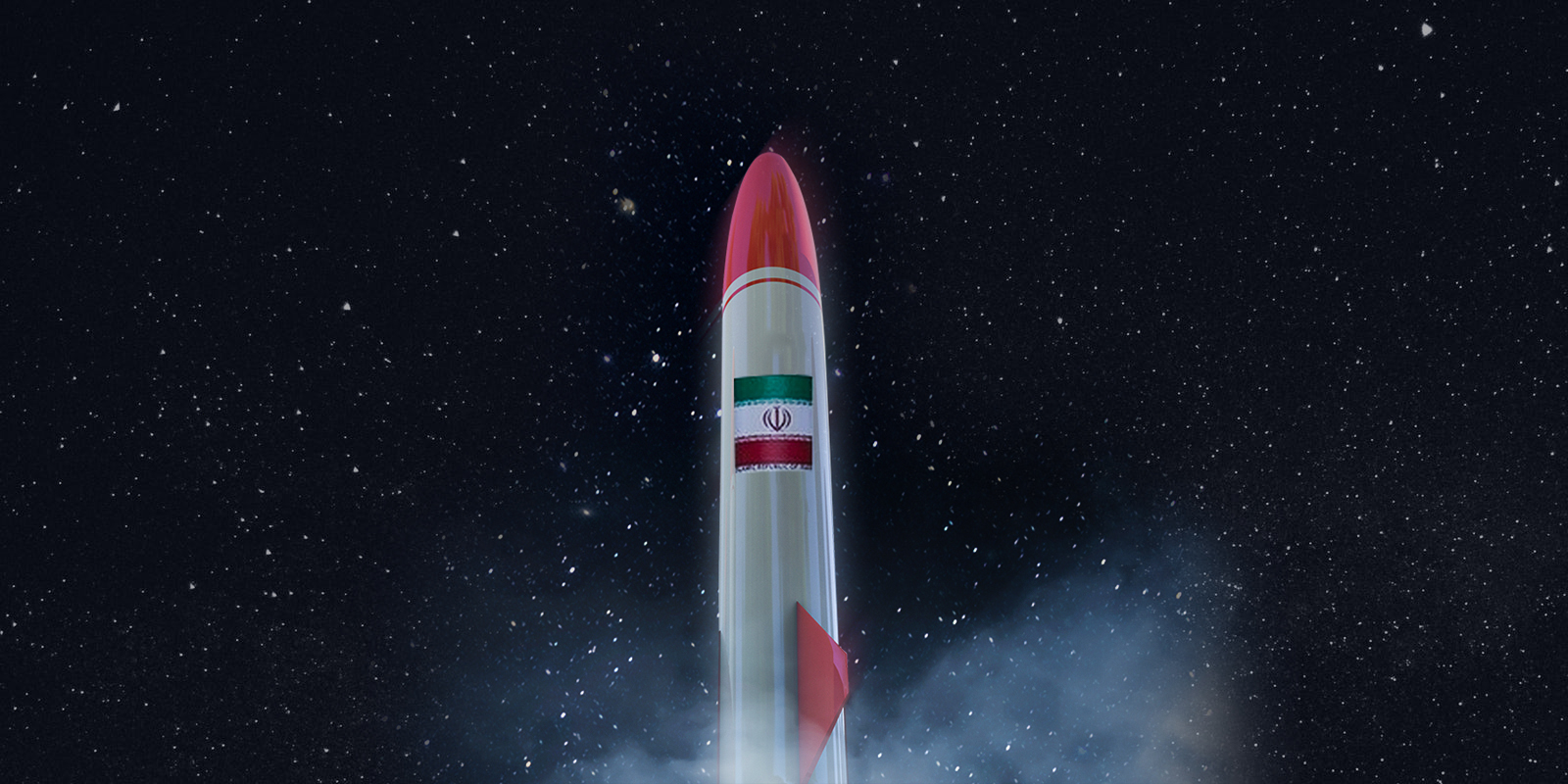 Iran Missile Space (Illustration)