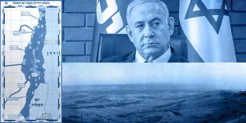 Benjamin Netanyahu and the Jordan River Plan