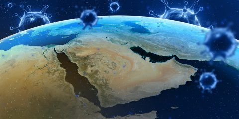 The Middle East from space coronavirus