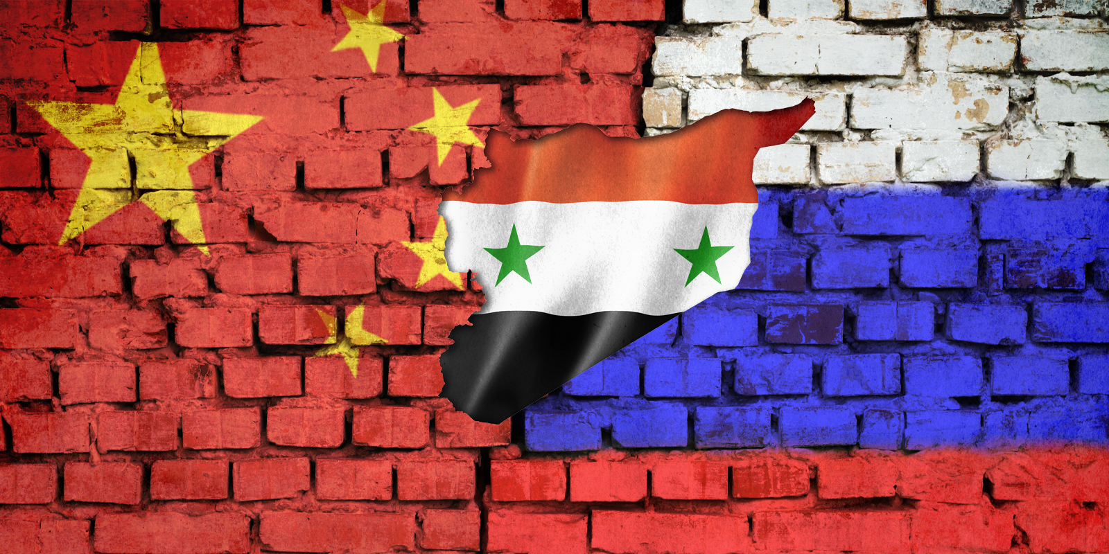 china-russia-syria-flags