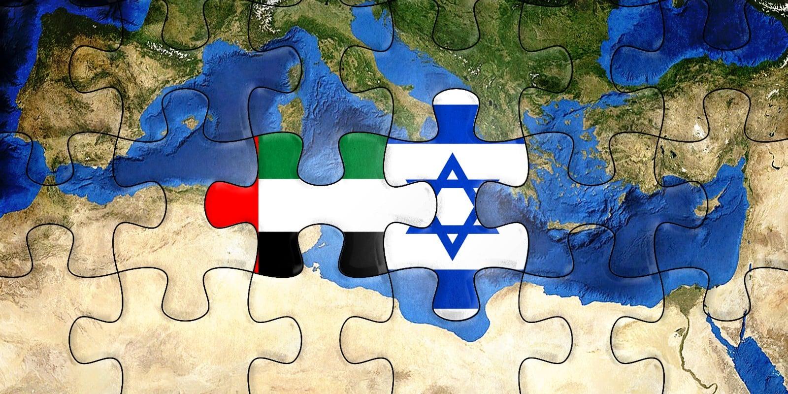 Israel-UAE-Mediterranean-Puzzle-Illustration