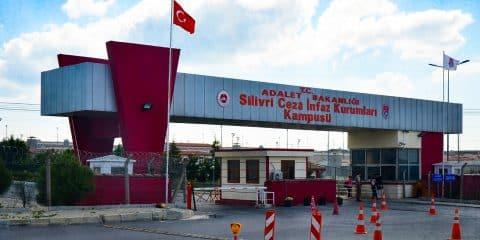 Silivri Prison in Silivri, Istanbul Turkey