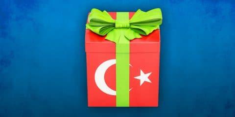 Turkey Gift illustration