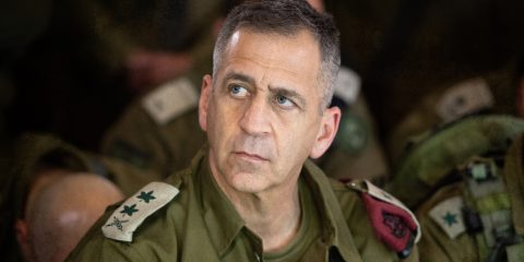 Aviv Kochavi Chief of General Staff of the IDF, in uniform