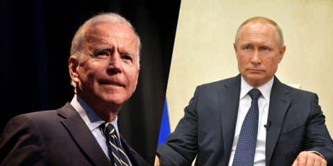 Joe Biden / Vladimir Putin