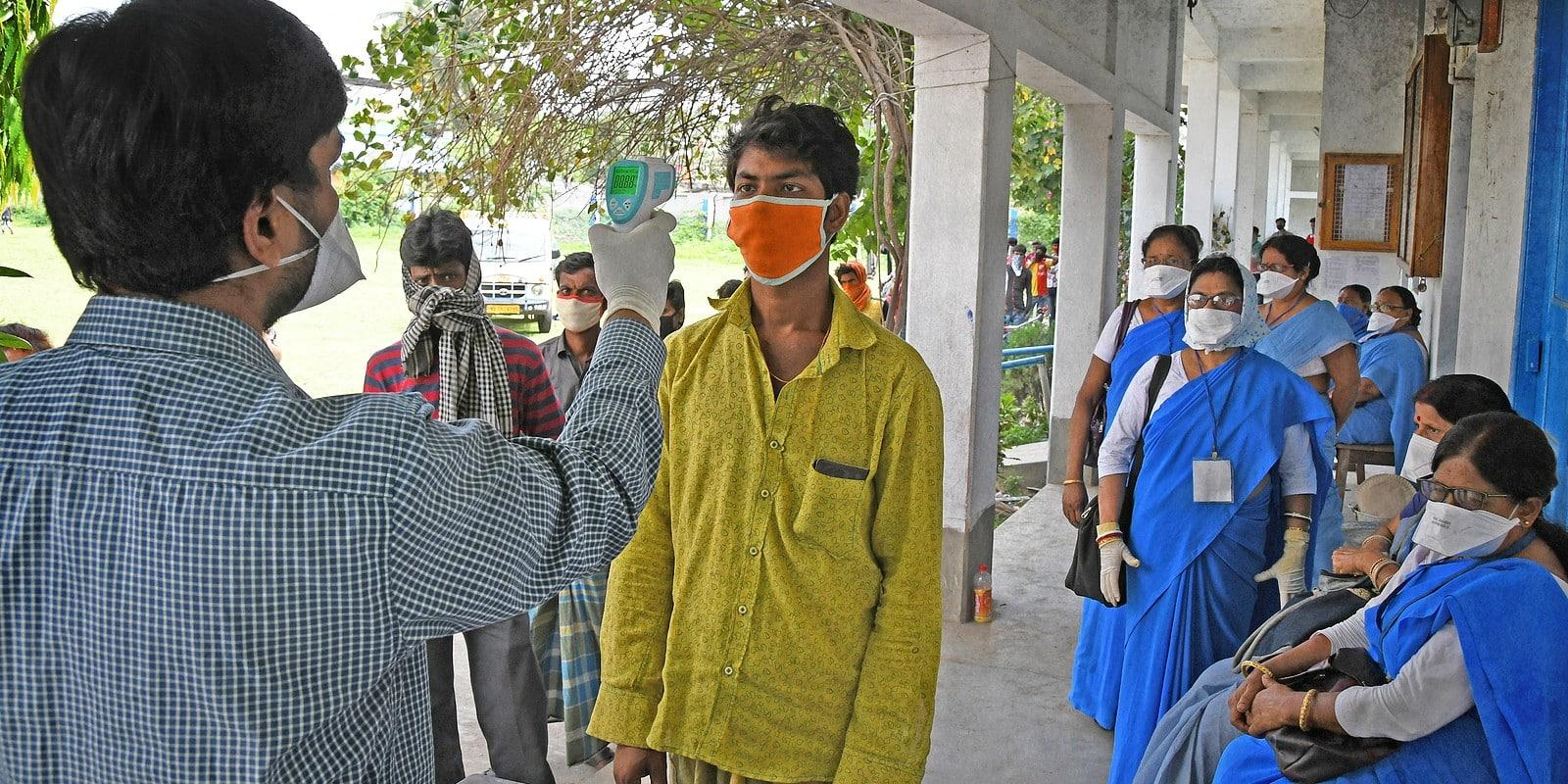 West Bengal India health screening for Coronavirus testing