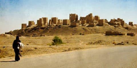 Marib ruins, Yemen