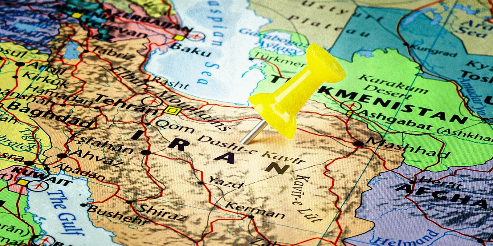 מפה של איראן