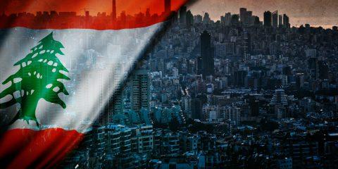 beirut and lebanon flag