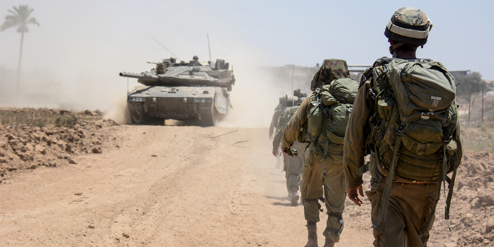 IDF soldiers operating in Gaza