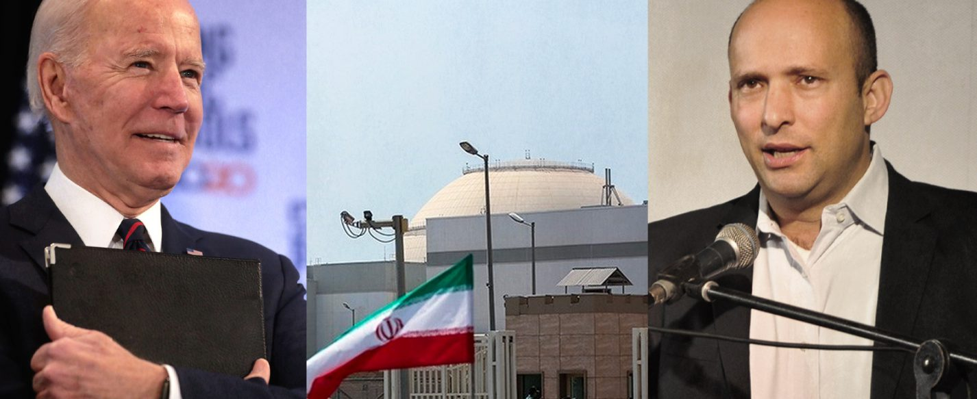 Biden, Bennet and Iran nuclear facility